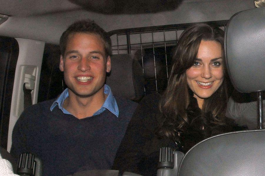 Kate Middleton et le prince William, sortie de boite en décembre 2007
