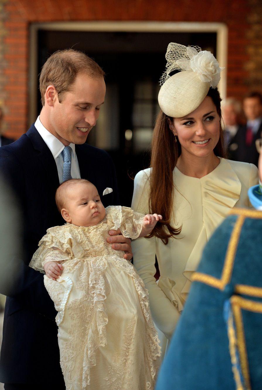 Le baptême du prince George, le 23 octobre 2013