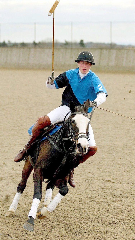 Le prince William, au polo en mars 2005