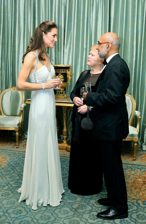 Premier évènement solo pour la duchesse Kate, le 27 octobre 2011