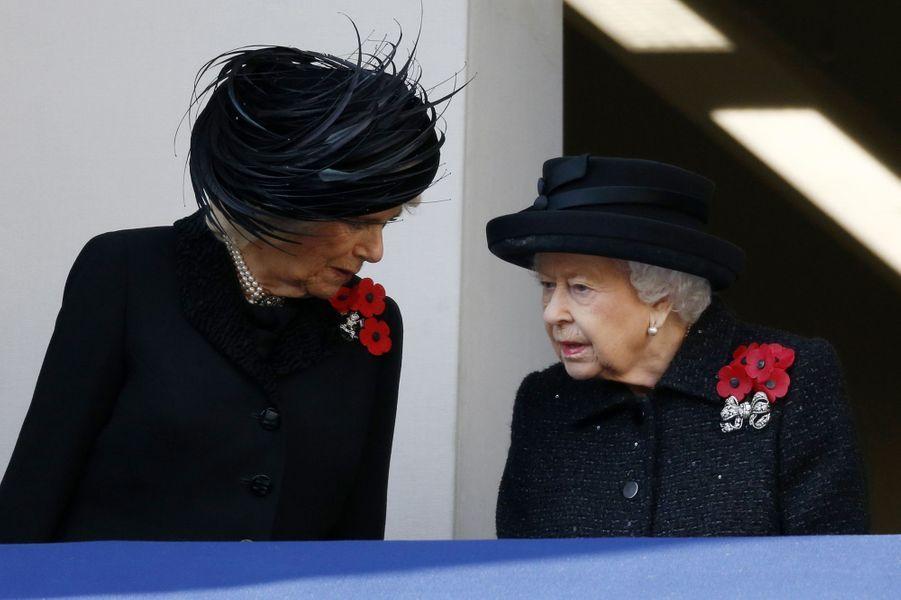 Camilla Parker Bowles, la reine Elizabeth II
