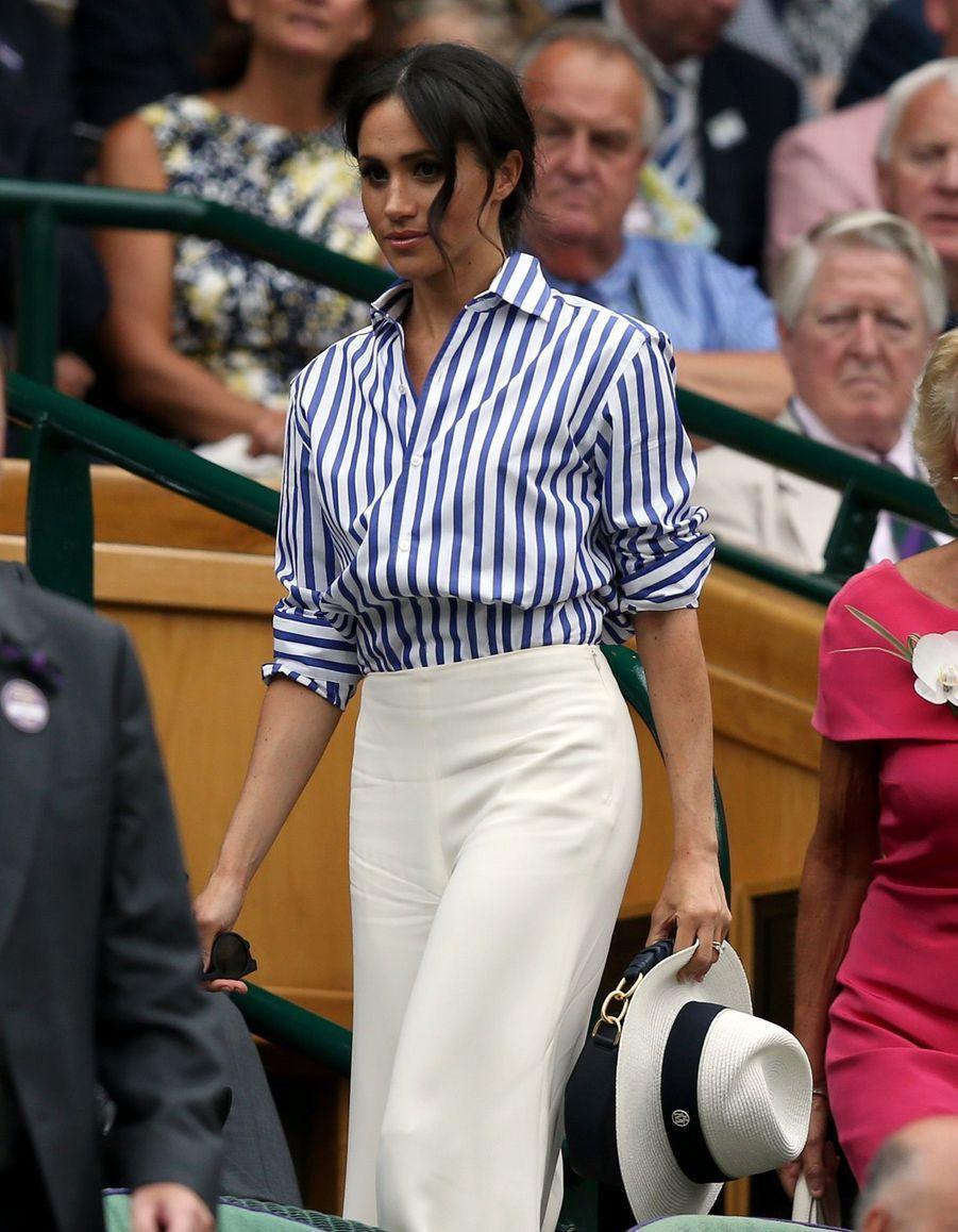 Kate Et Meghan Réunies À Wimbledon Pour La Finale Dames ( 10