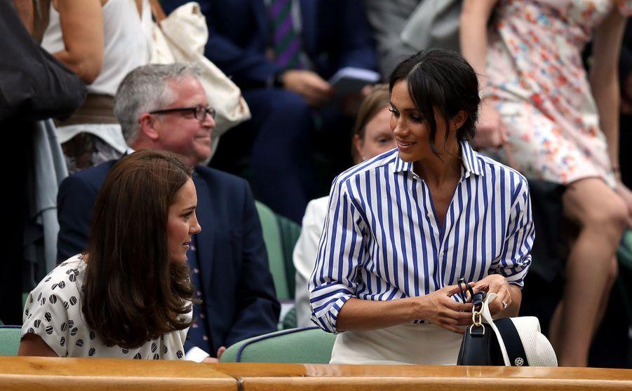 Kate Et Meghan Réunies À Wimbledon Pour La Finale Dames ( 13