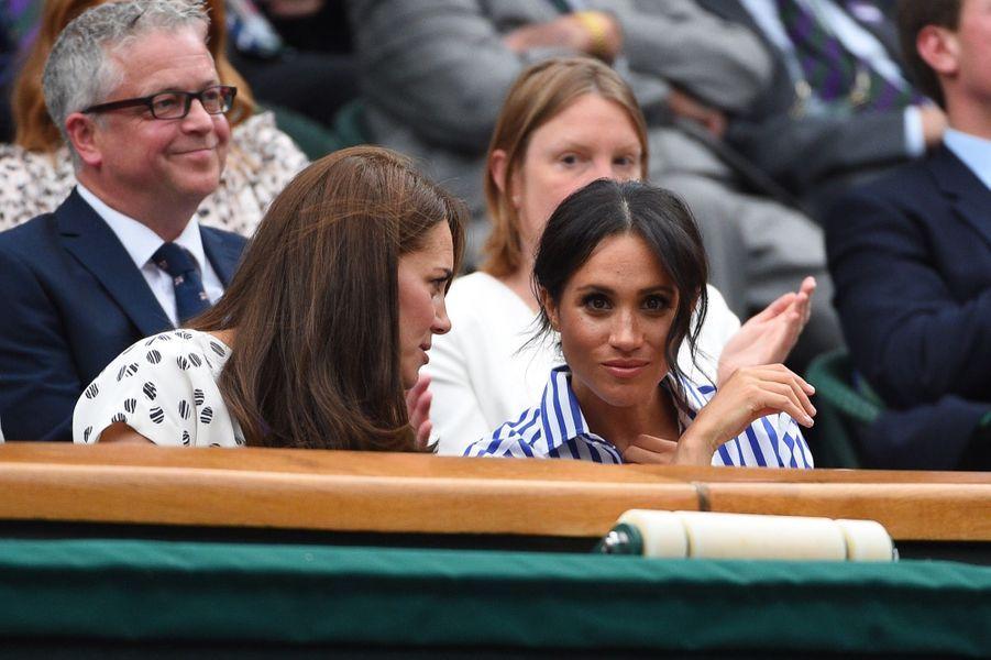 Kate Et Meghan Réunies À Wimbledon Pour La Finale Dames ( 18