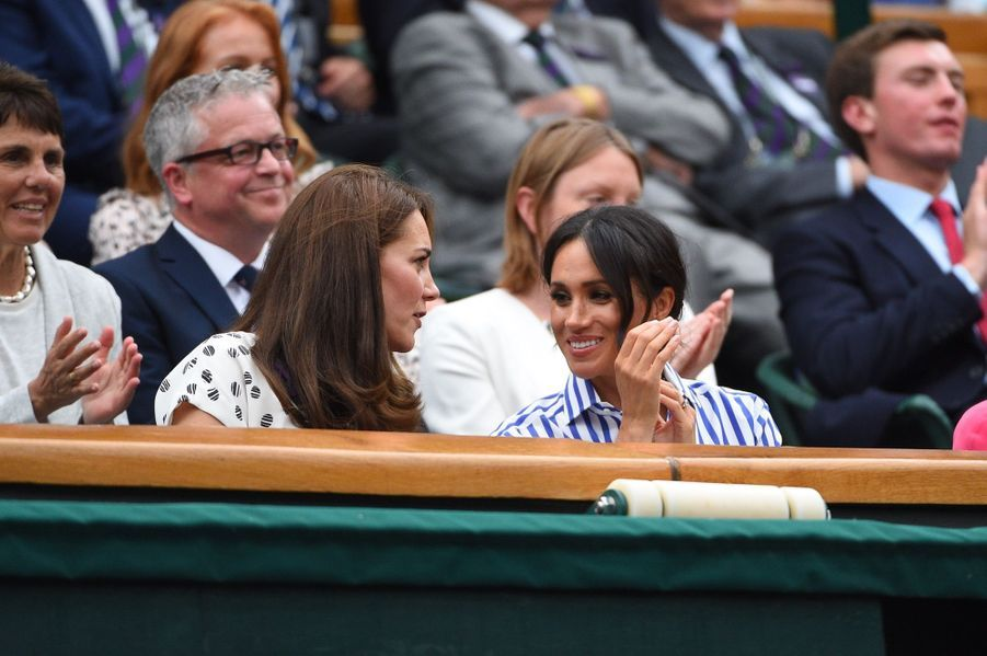 Kate Et Meghan Réunies À Wimbledon Pour La Finale Dames ( 20