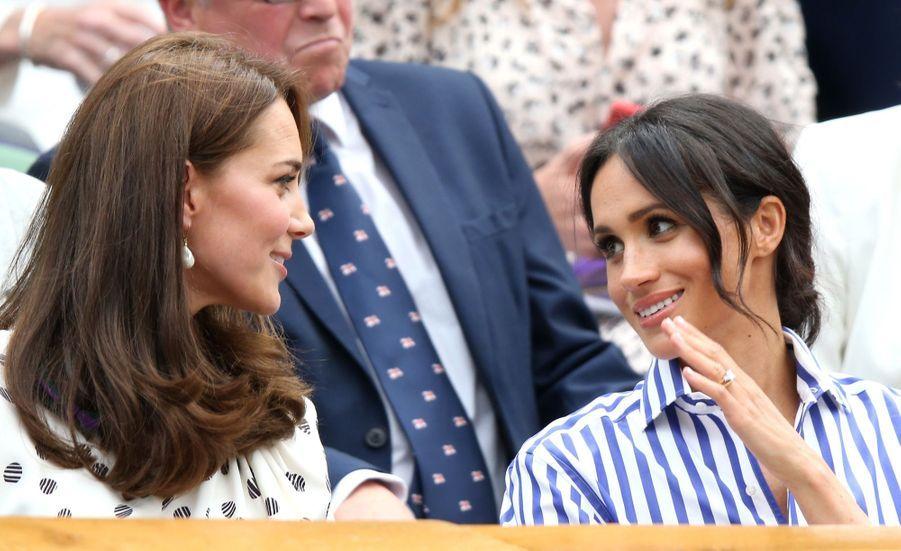 Kate Et Meghan Réunies À Wimbledon Pour La Finale Dames ( 28