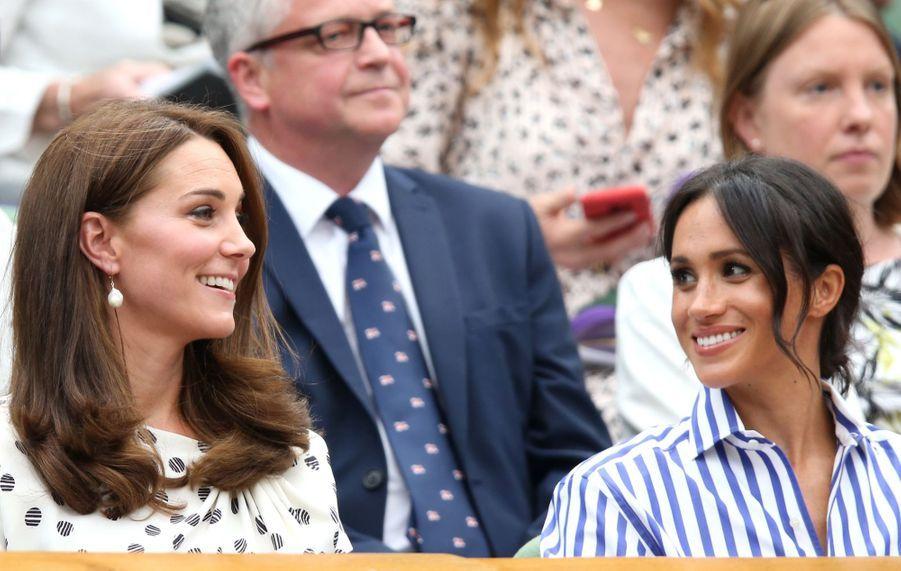 Kate Et Meghan Réunies À Wimbledon Pour La Finale Dames ( 29