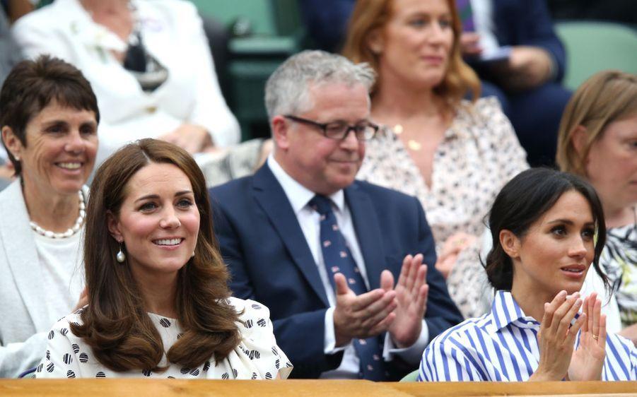 Kate Et Meghan Réunies À Wimbledon Pour La Finale Dames ( 30