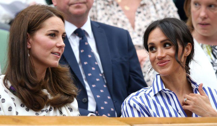 Kate Et Meghan Réunies À Wimbledon Pour La Finale Dames ( 31