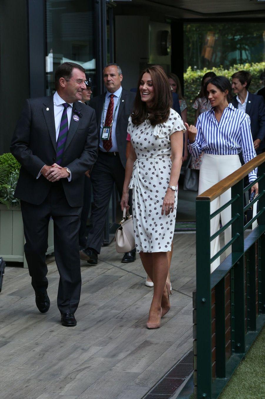 Kate Et Meghan Réunies À Wimbledon Pour La Finale Dames ( 4