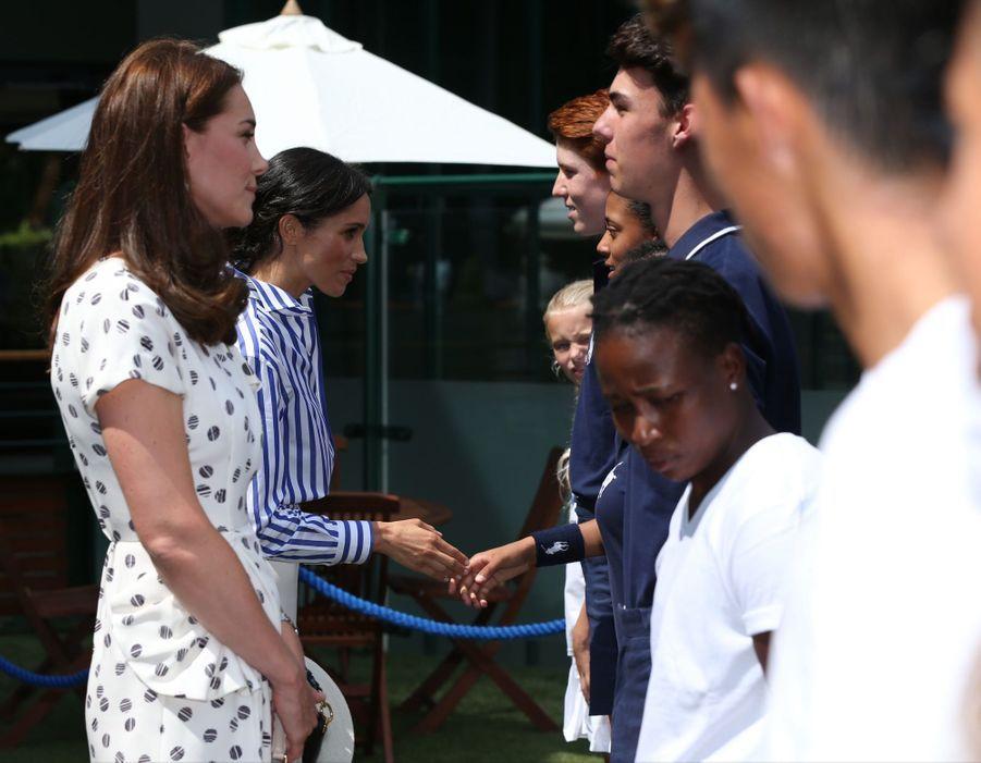 Kate Et Meghan Réunies À Wimbledon Pour La Finale Dames ( 5