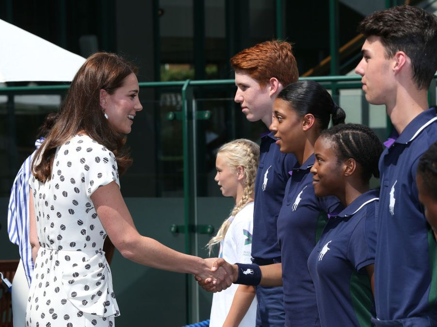 Kate Et Meghan Réunies À Wimbledon Pour La Finale Dames ( 6