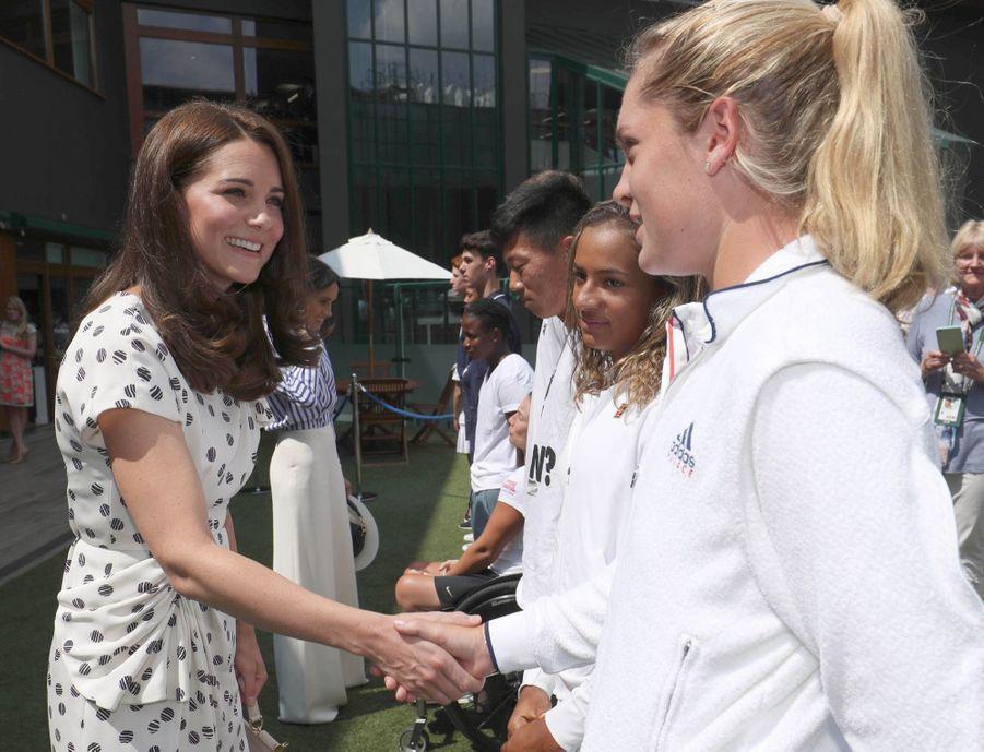 Kate Et Meghan Réunies À Wimbledon Pour La Finale Dames ( 8
