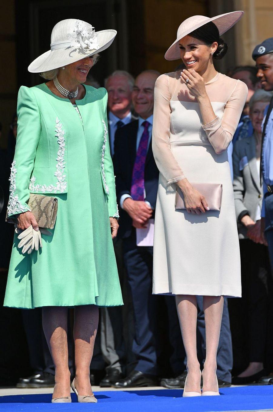 Meghan, la duchesse de Sussex, le 22 mai 2018