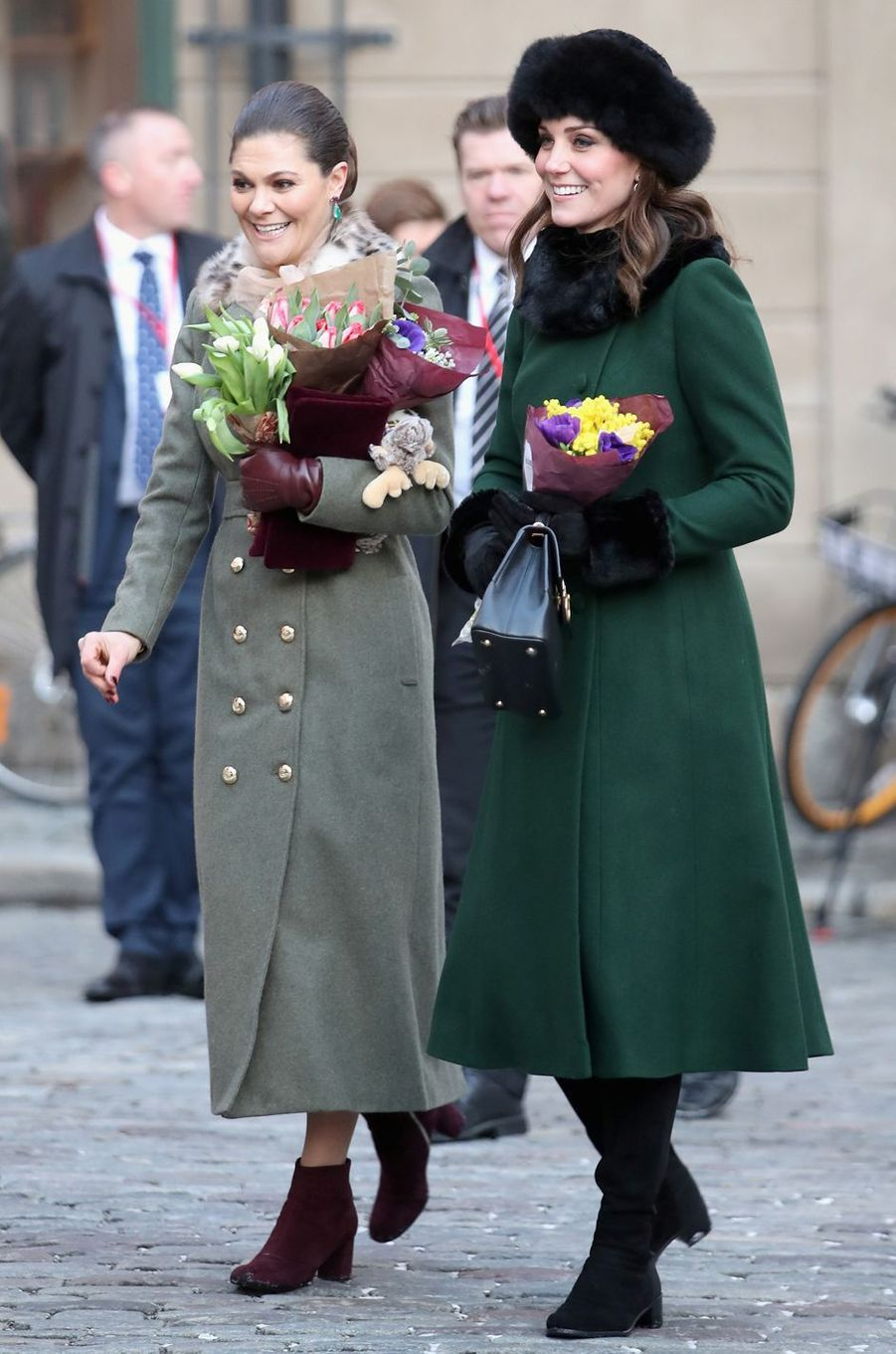 Kate, la duchesse de Cambridge, le 30 janvier 2018