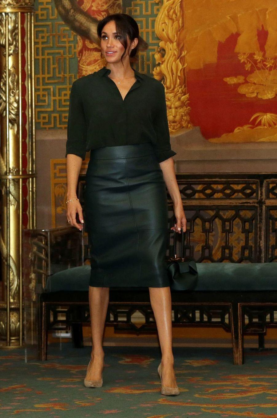 Meghan, la duchesse de Sussex, le 3 octobre 2018