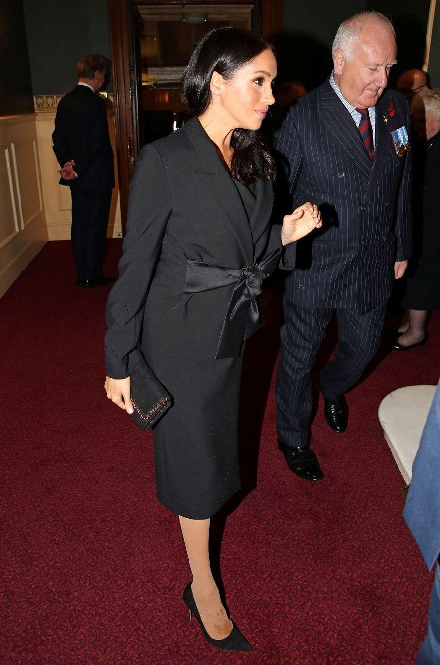 Meghan, la duchesse de Sussex, le 10 novembre 2018