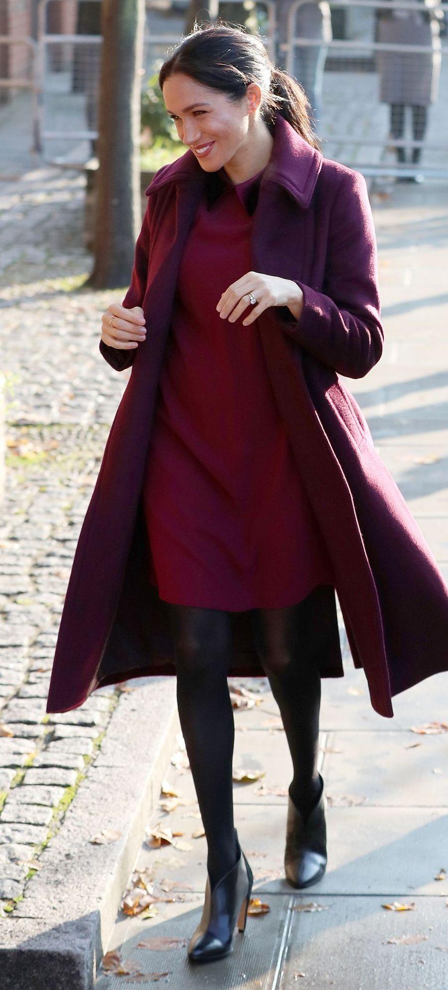 Meghan, la duchesse de Sussex, le 21 novembre 2018