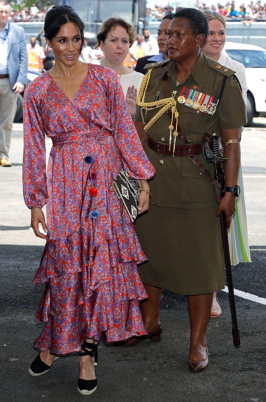 Meghan, la duchesse de Sussex, le 24 octobre 2018