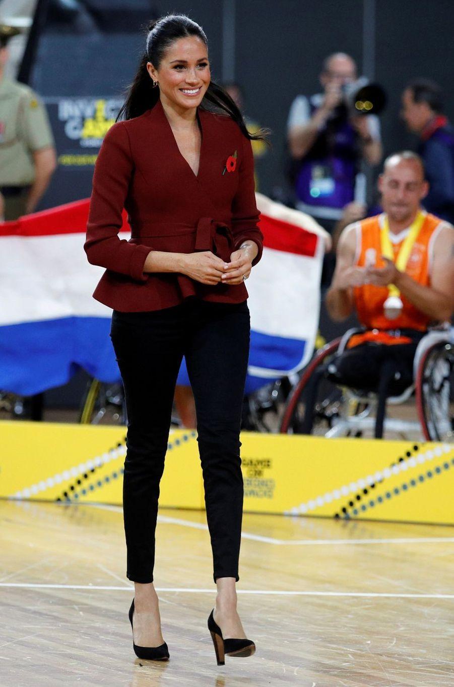 Meghan, la duchesse de Sussex, le 27 octobre 2018