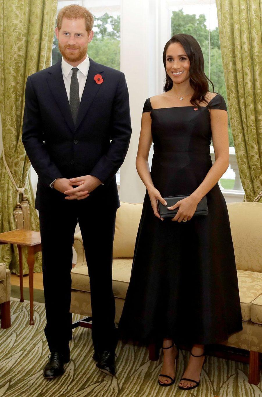 Meghan, la duchesse de Sussex, le 28 octobre 2018