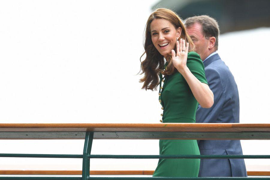 Kate Middleton à Wimbledon le 13 juillet 2019