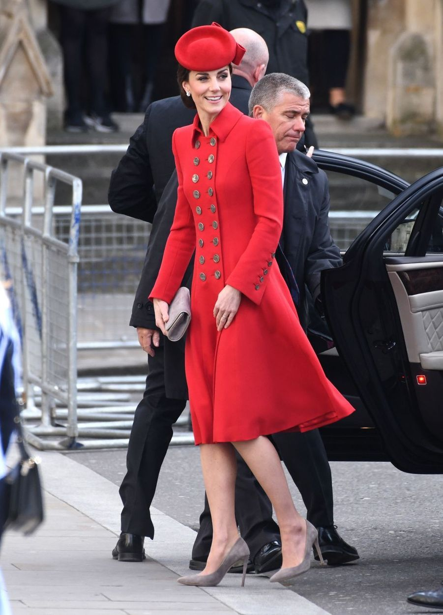 Kate Middleton à Londres le 11 mars 2019