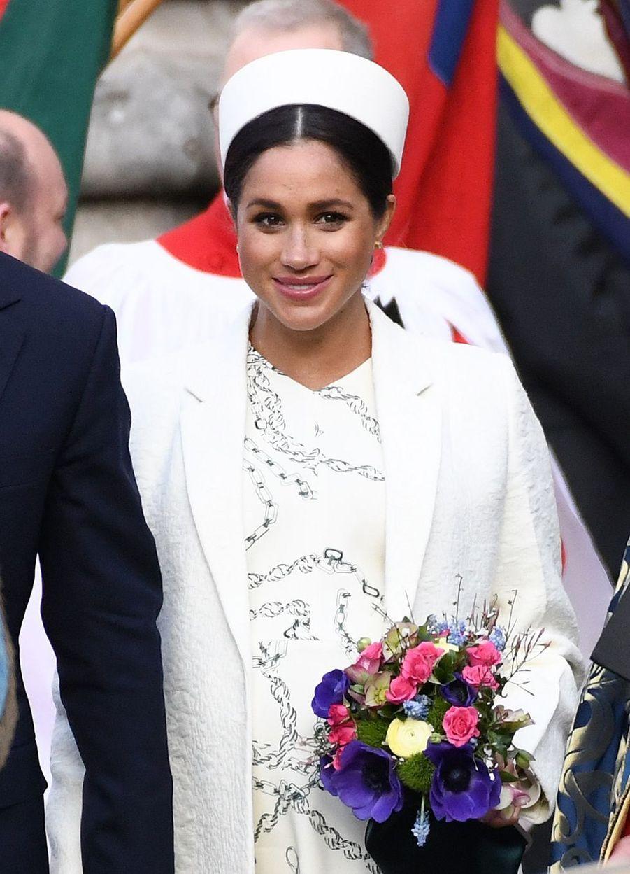 Meghan Markle à Londres le11 mars 2019