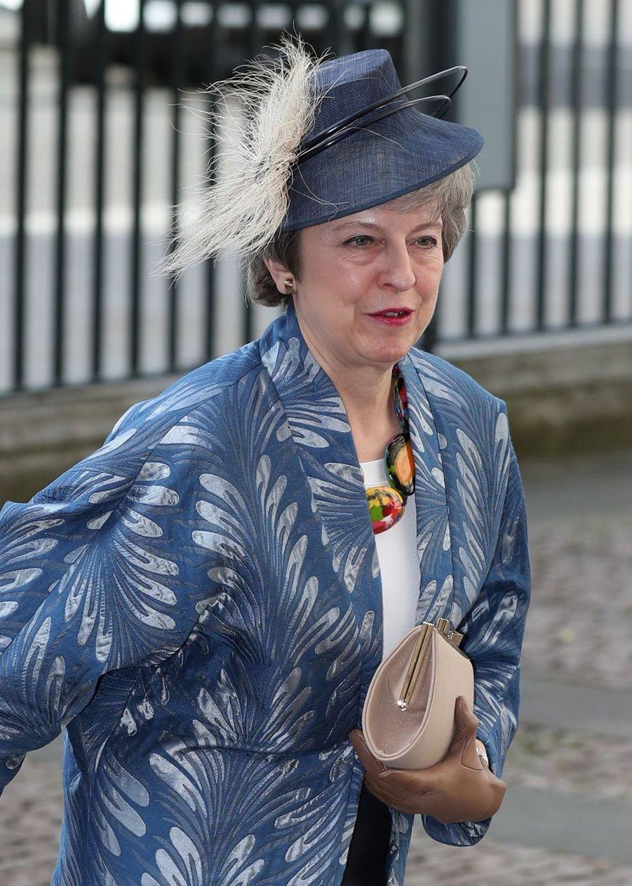 La Première ministre du Royaume-UniTheresa Mayà Londres le 11 mars 2019