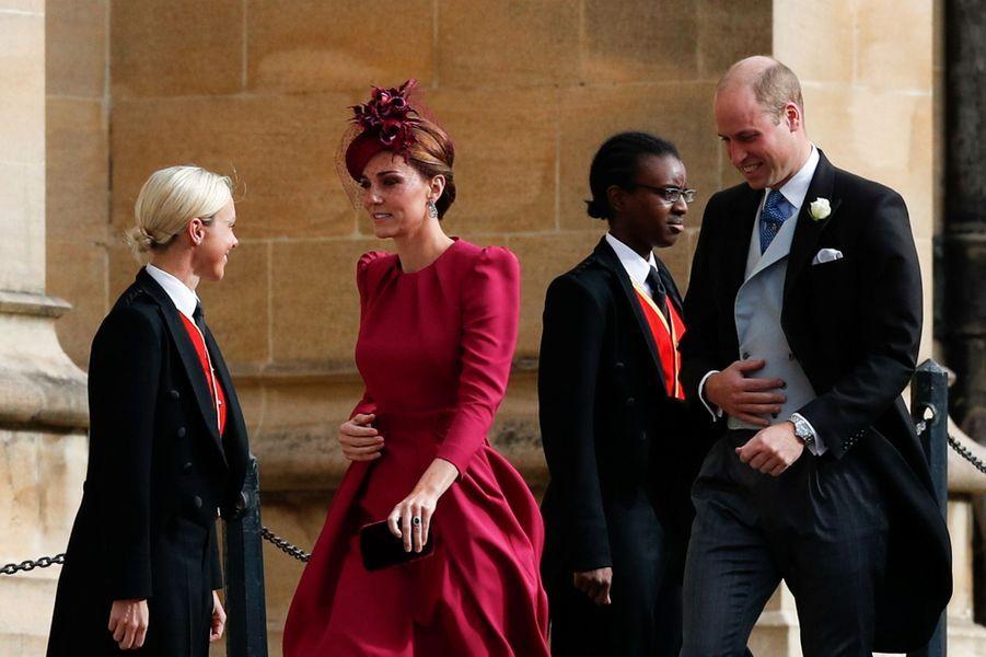 Kate Middleton et le prince William à Windsor, le 12 octobre 2018