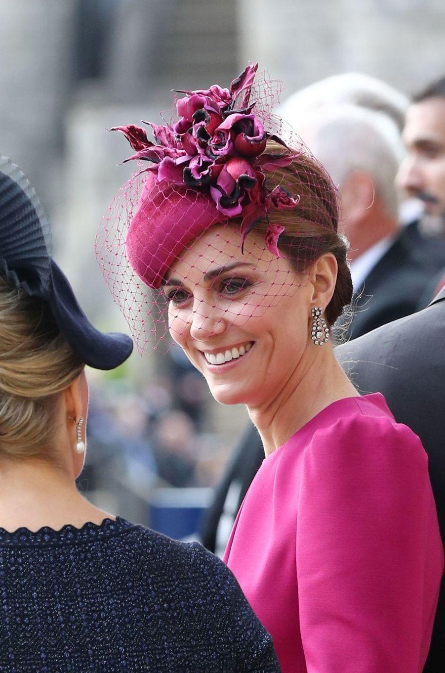 Kate, la duchesse de Cambridge, à Windsor, le 12 octobre 2018