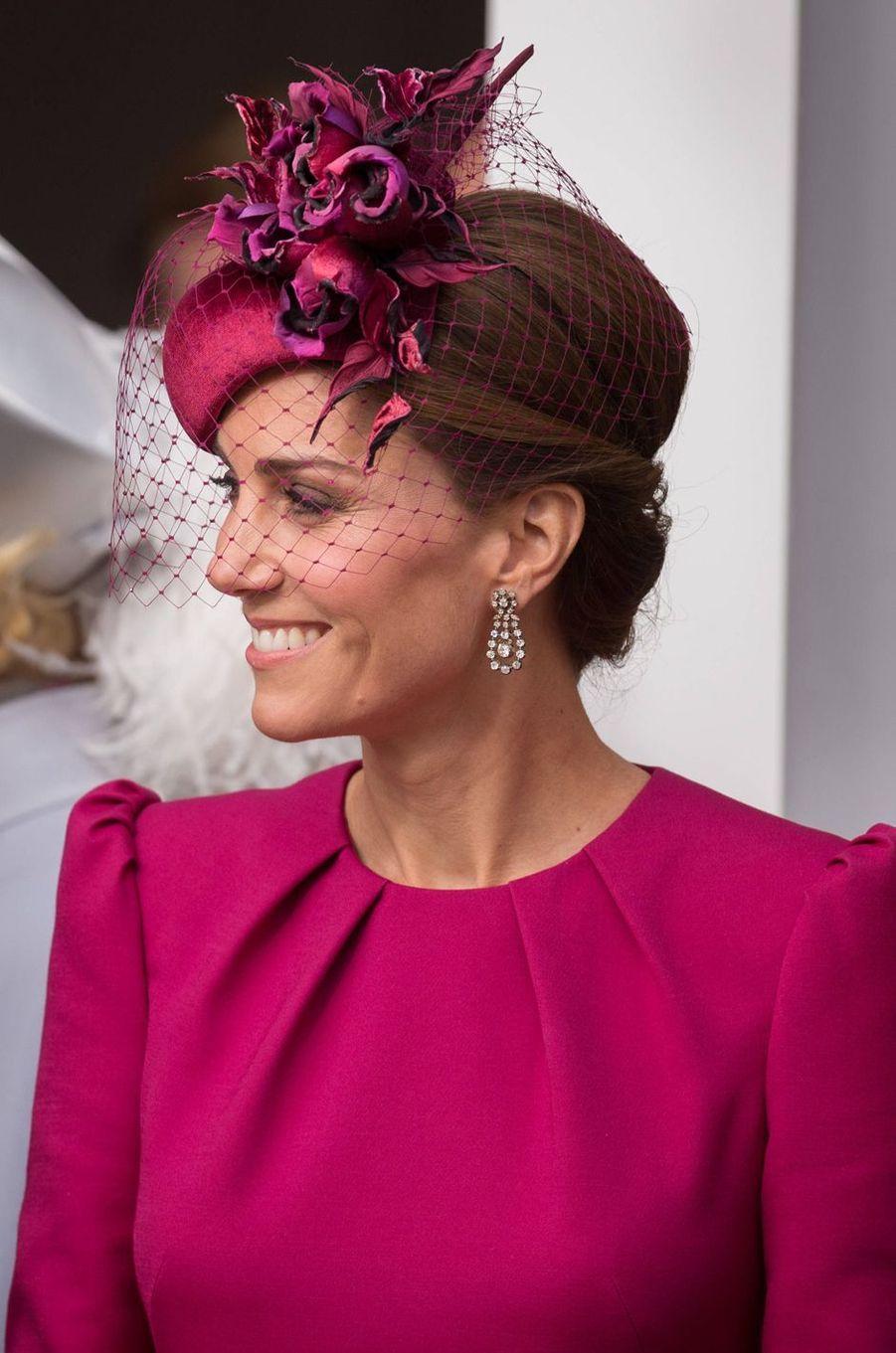 Kate, la duchesse de Cambridge, à Windsor le 12 octobre 2018