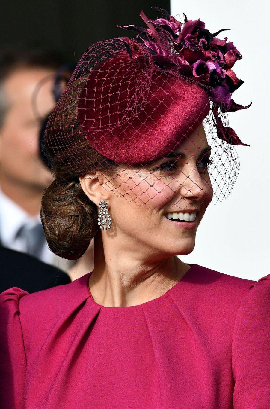 La duchesse Catherine de Cambridge à Windsor, le 12 octobre 2018