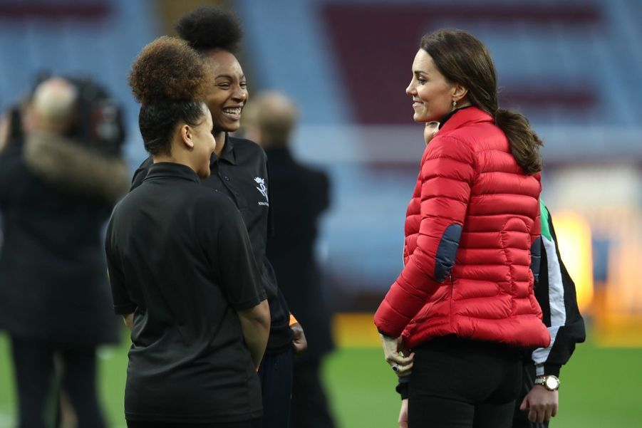 Kate Middleton Et Le Prince William Au Stade Du Club D'Aston Villa 10
