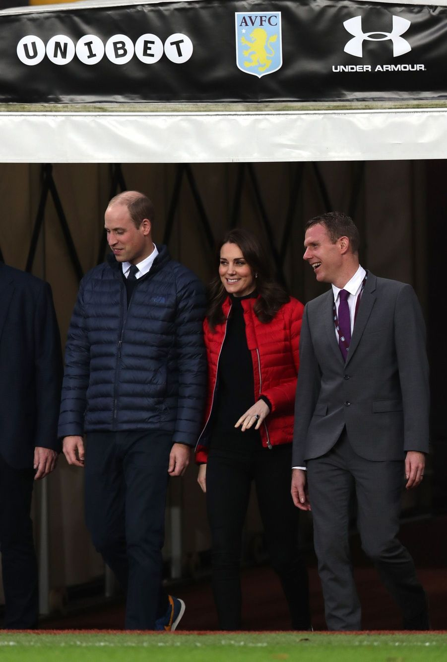 Kate Middleton Et Le Prince William Au Stade Du Club D'Aston Villa 14