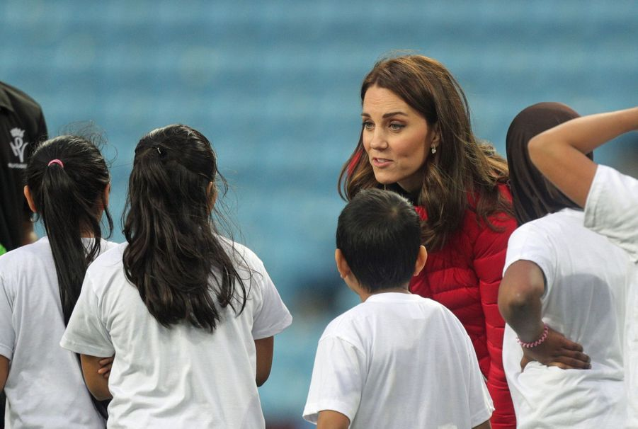 Kate Middleton Et Le Prince William Au Stade Du Club D'Aston Villa 3