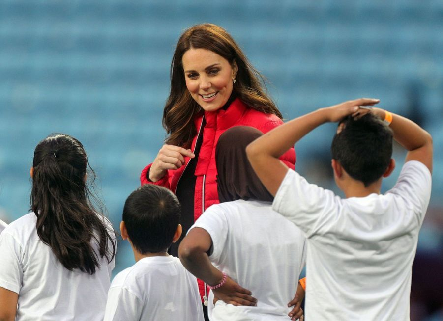 Kate Middleton Et Le Prince William Au Stade Du Club D'Aston Villa 7