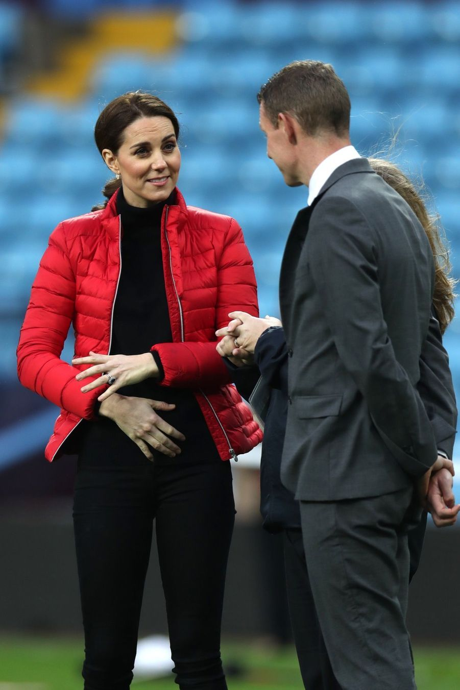 Kate Middleton Et Le Prince William Au Stade Du Club D'Aston Villa 8