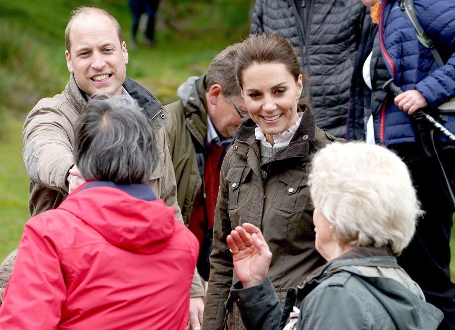 Kate Middleton et le prince Williamà Cumbria, le 11 juin 2019
