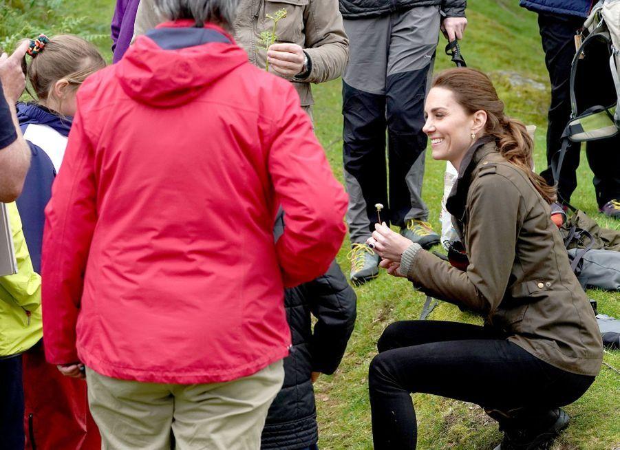 Kate Middleton à Cumbria, le 11 juin 2019
