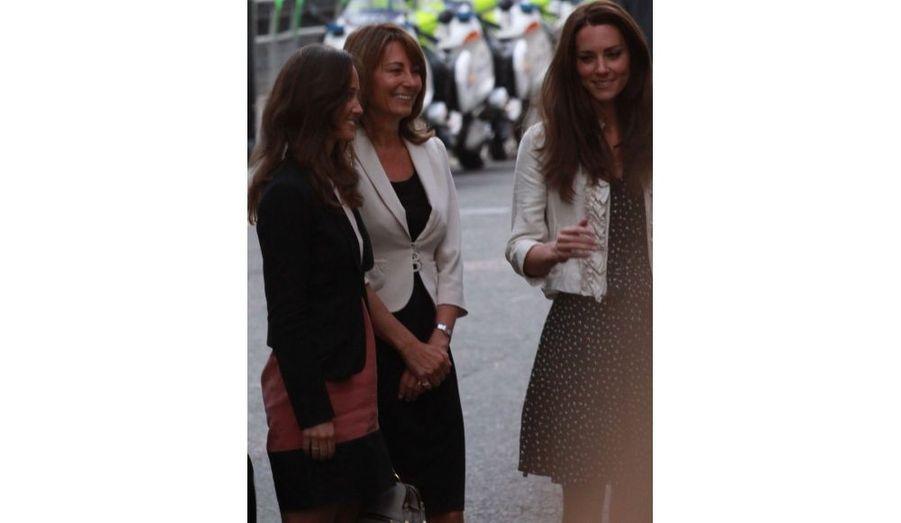Pippa, Carole et Kate