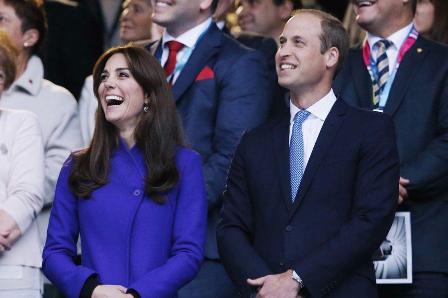 Kate, William et Harry donnent le coup d'envoi