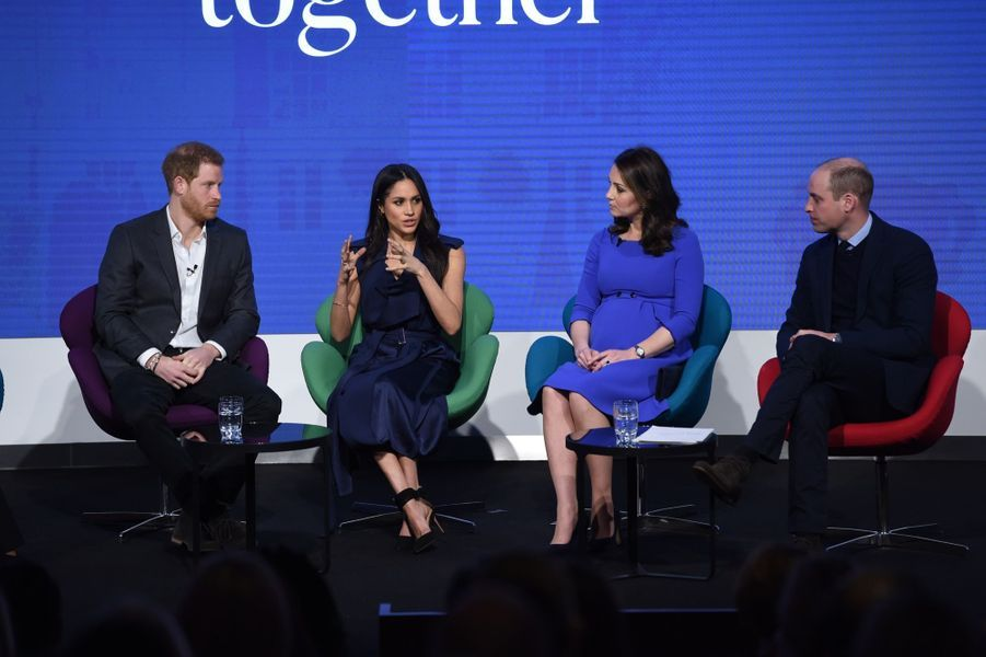 Kate Middleton, Meghan Markle, Harry Et William Lancent Le Premier Forum Annuel De Leur Royal Foundation 10