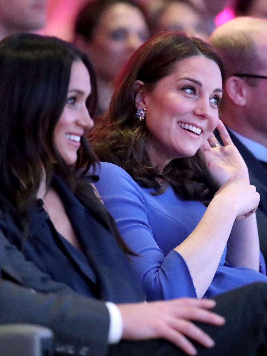 Kate Middleton, Meghan Markle, Harry Et William Lancent Le Premier Forum Annuel De Leur Royal Foundation 12