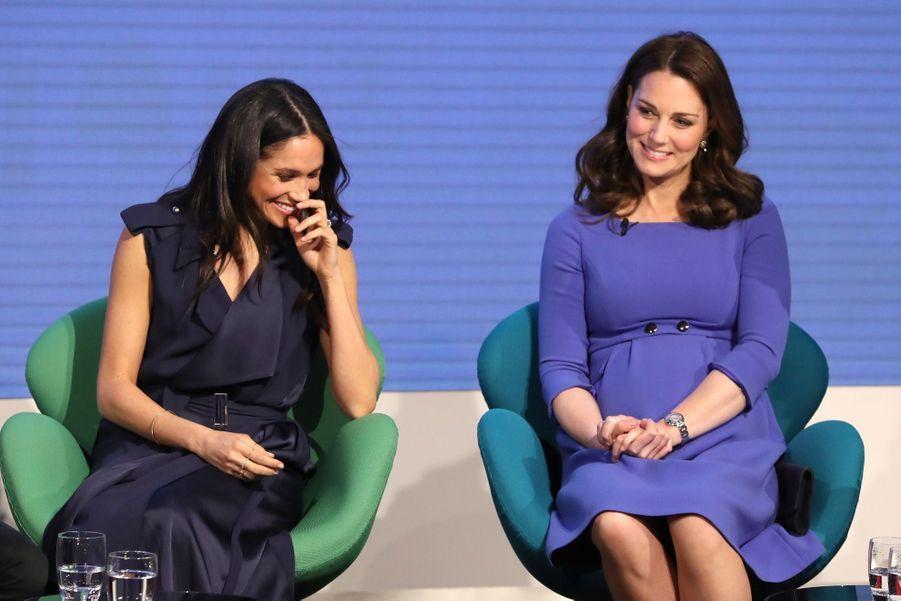 Kate Middleton, Meghan Markle, Harry Et William Lancent Le Premier Forum Annuel De Leur Royal Foundation 13