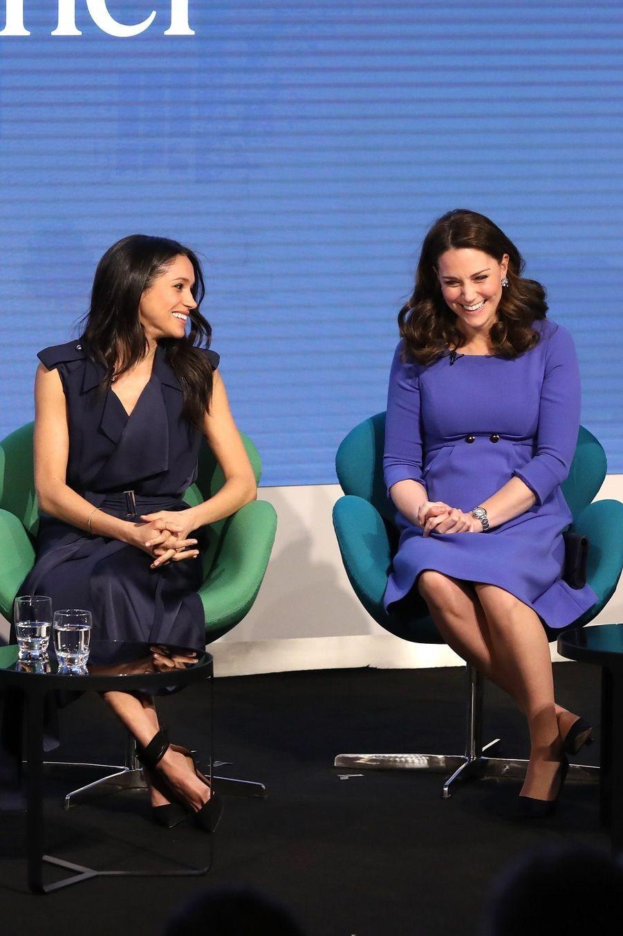 Kate Middleton, Meghan Markle, Harry Et William Lancent Le Premier Forum Annuel De Leur Royal Foundation 15