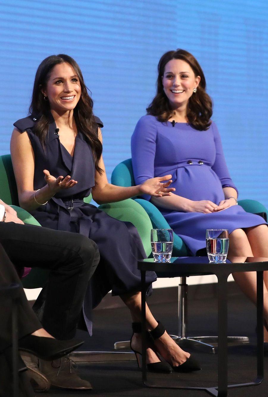 Kate Middleton, Meghan Markle, Harry Et William Lancent Le Premier Forum Annuel De Leur Royal Foundation 16