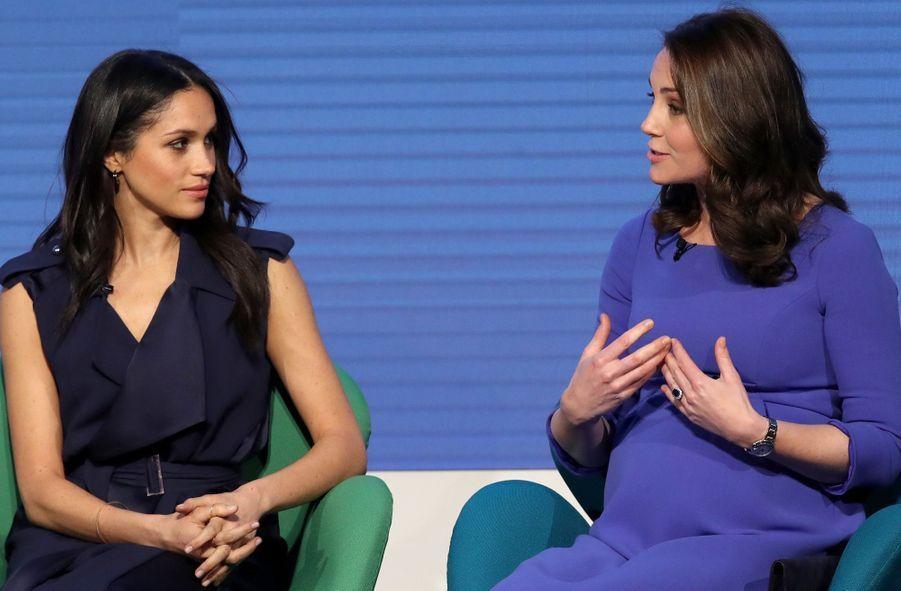 Kate Middleton, Meghan Markle, Harry Et William Lancent Le Premier Forum Annuel De Leur Royal Foundation 2