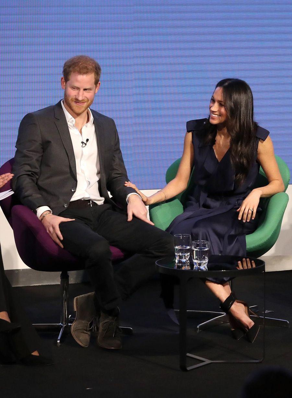 Kate Middleton, Meghan Markle, Harry Et William Lancent Le Premier Forum Annuel De Leur Royal Foundation 20