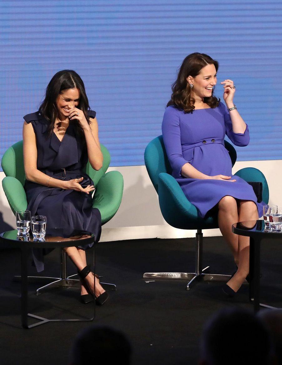 Kate Middleton, Meghan Markle, Harry Et William Lancent Le Premier Forum Annuel De Leur Royal Foundation 21